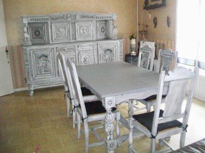 Salle a manger bretonne jennydeco62 douai arras cambrai for Salle a manger bretonne